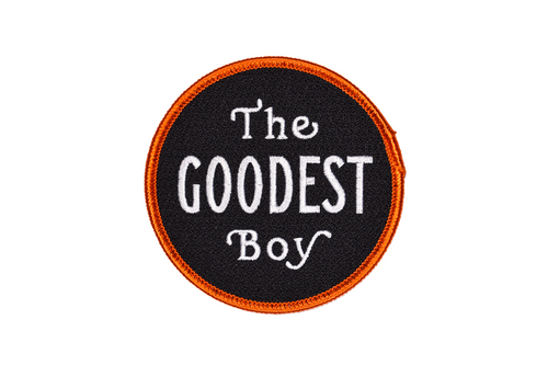 The Goodest Boy Embroidered Patch • Maxine x Oxford Pennant