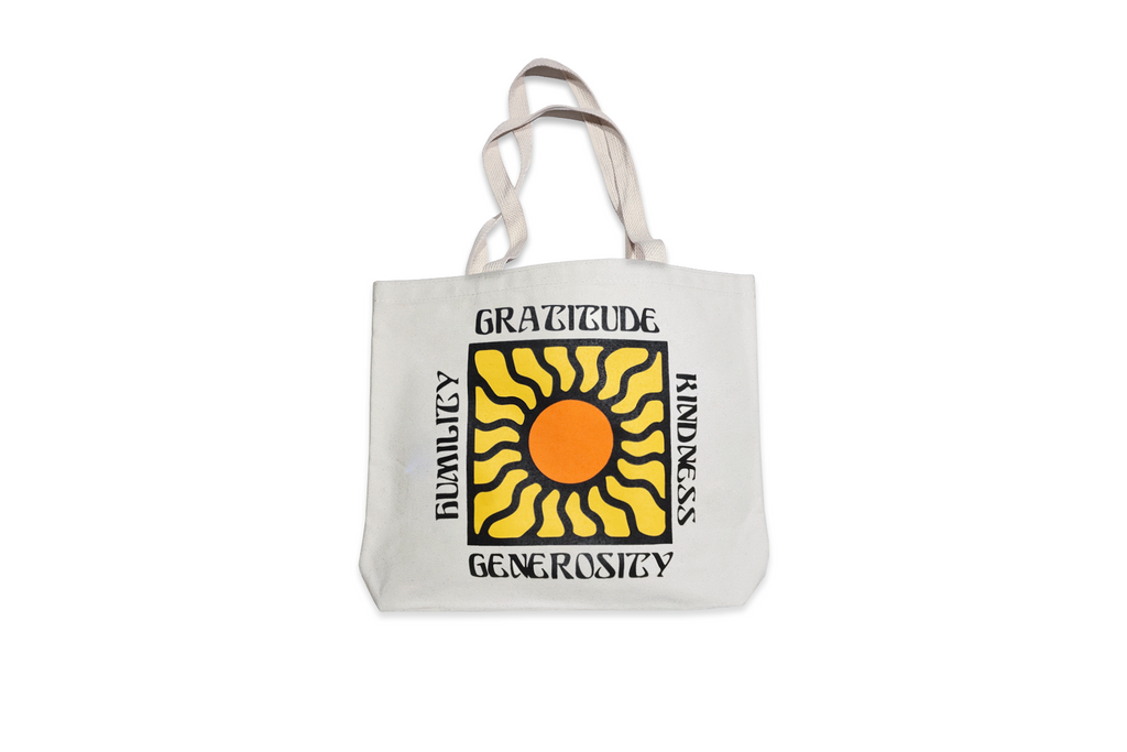 Real Fun, Wow! x Oxford Pennant • Tote Bag - Gratitude