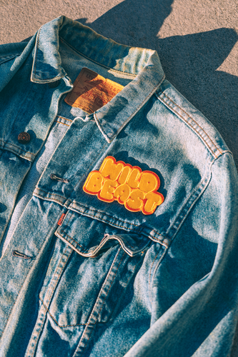 Wild Beast Embroidered Patch • Maxine x Oxford Pennant