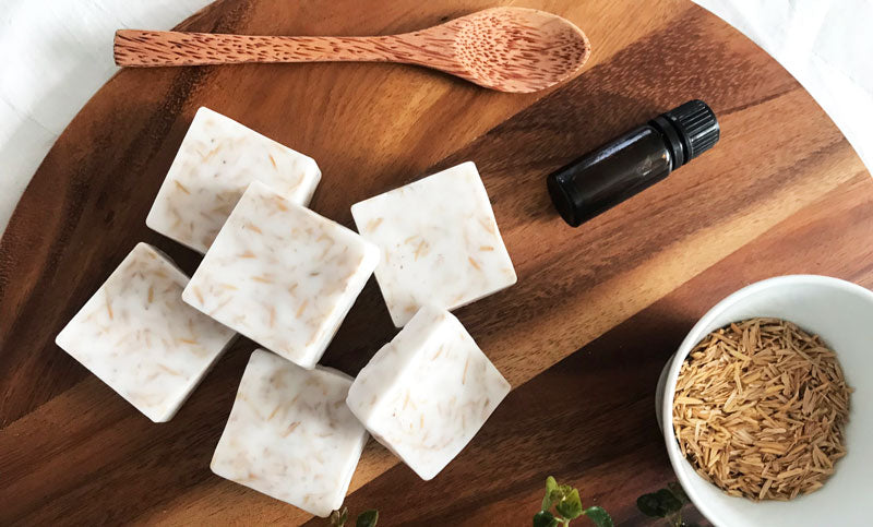 Make your own exfoliating bar soap