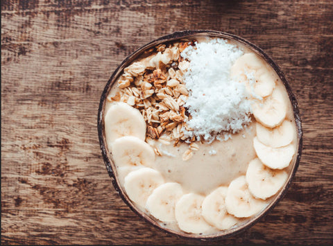 huski home peanut banana smoothie bowl recipe