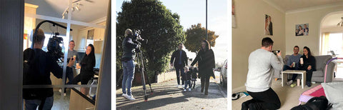 huski home filming on bbc 1 the customer is always right