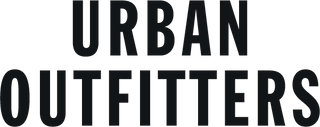 urban outfitters black logo