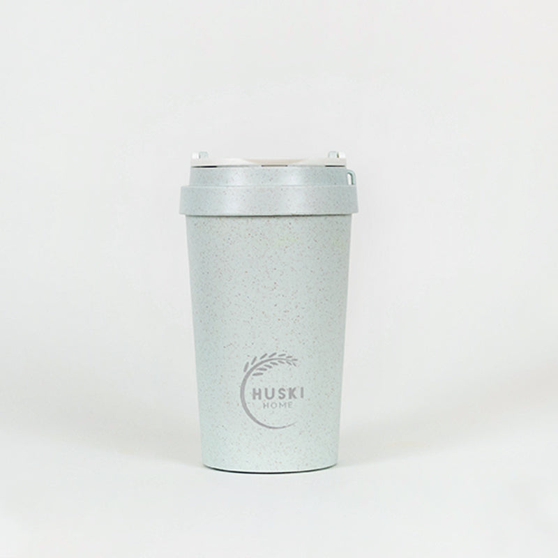 Eco-friendly travel cup in duck egg - 400ml