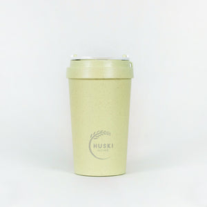 Eco-friendly travel cup in pistachio - 400ml