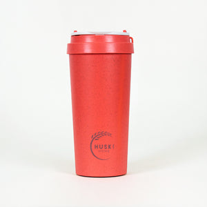 Eco-friendly travel cup in coral - 500ml