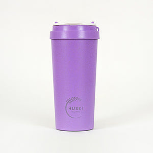 Eco-friendly travel cup in violet - 500ml