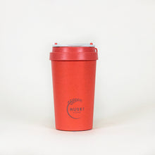 Load image into Gallery viewer, Eco-friendly travel cup in coral - 400ml