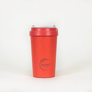 Eco-friendly travel cup in coral - 400ml
