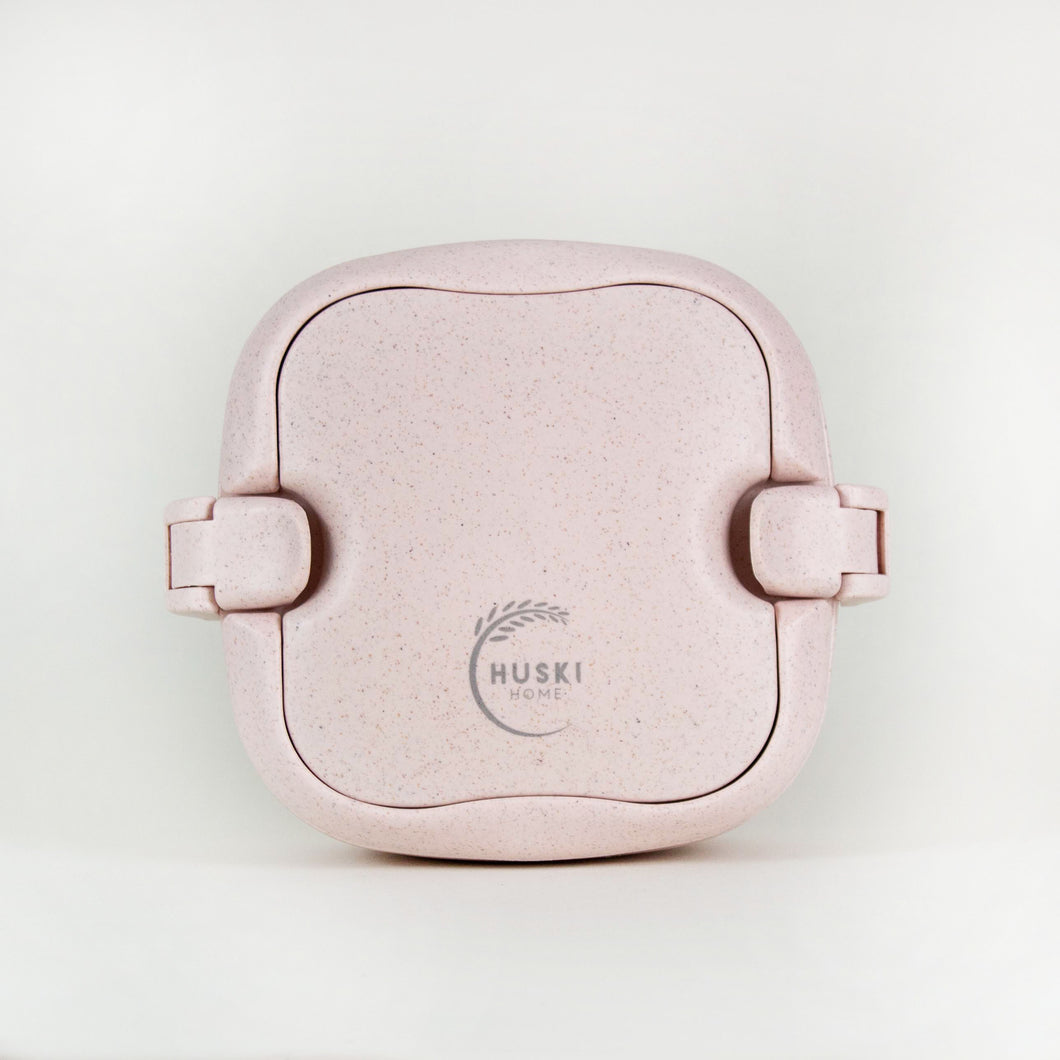 Multi-compartment lunch box in rose