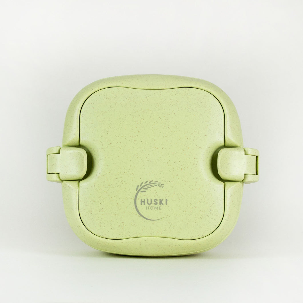 PRESALE - Multi-compartment lunch box in pistachio