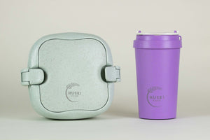 Bundle item - 400ml Travel cup & multi-compartment lunch box