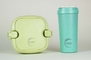 Bundle item - 500ml Travel cup & multi-compartment lunch box