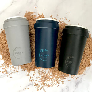Eco-friendly travel cup in Slate - 400ml