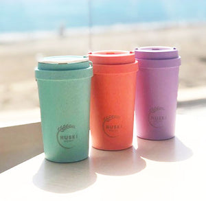 Eco-friendly travel cup in lagoon - 400ml