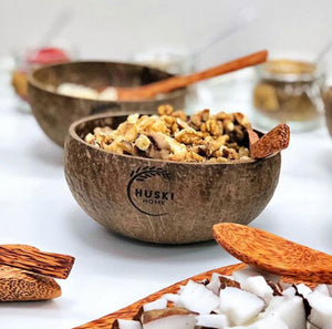 Sustainable coconut bowl