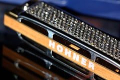 Crystal Hohner Blues Harp Harmonica