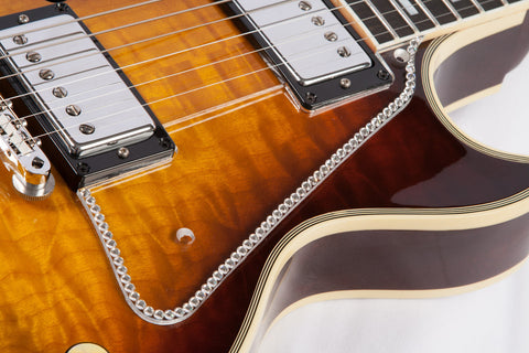 Single Row Crystal Pickguard for Les Paul™