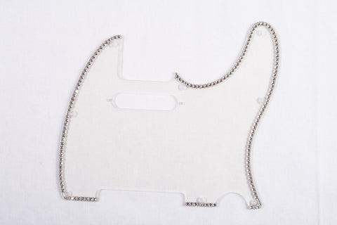 Single-row crystal pickguard for Tele®