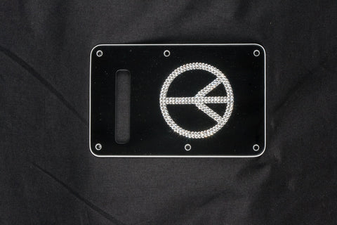 Peace Sign backplate cover for Fender Strat™