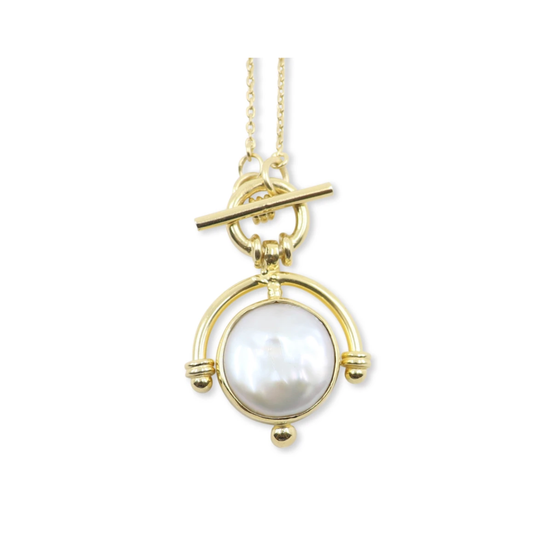 The Lost Pearl Gold Necklace