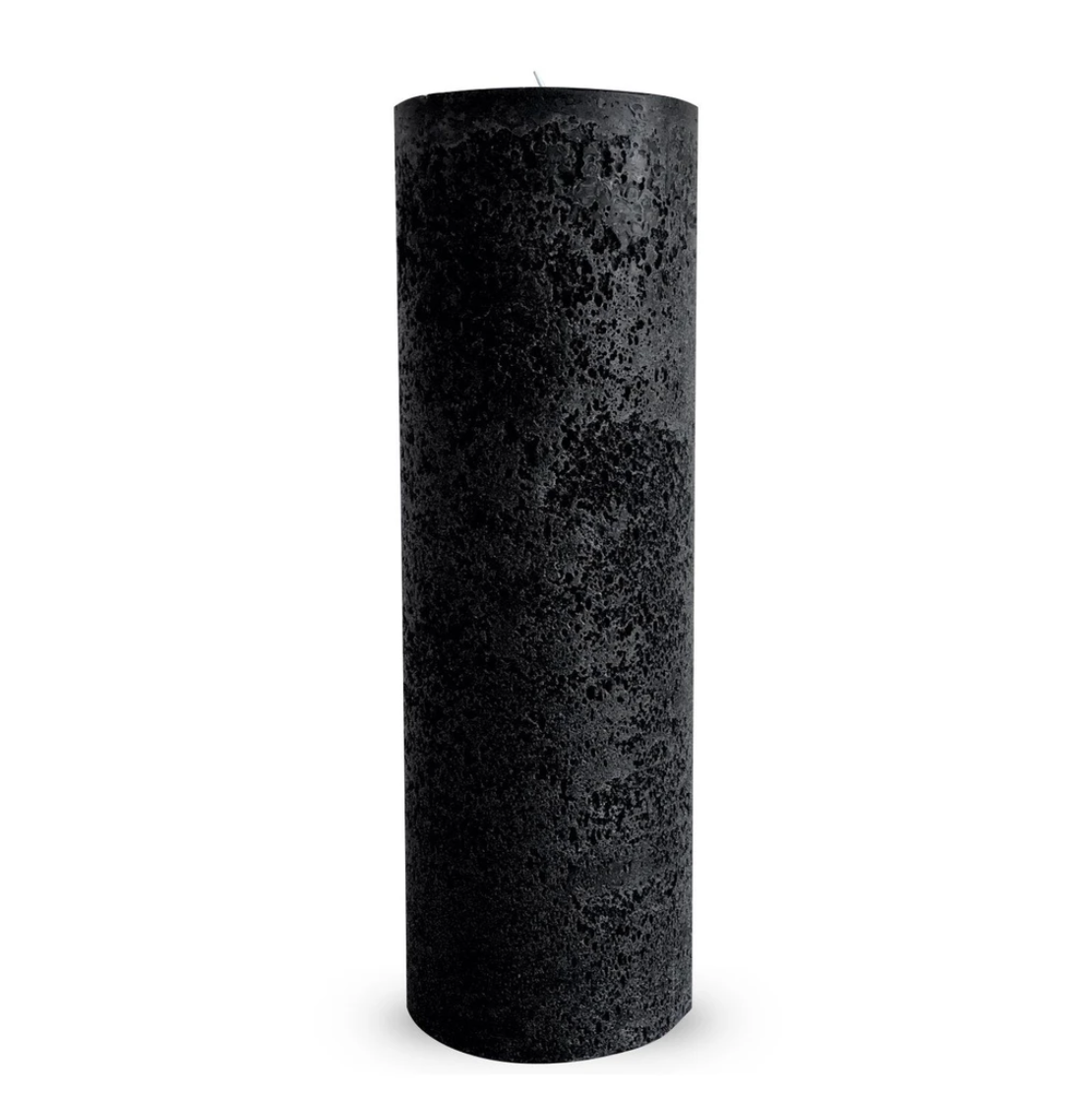 Textured Candle Black Large