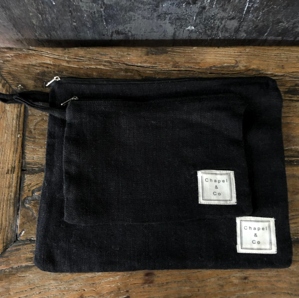 Toiletry Bag Set - Black