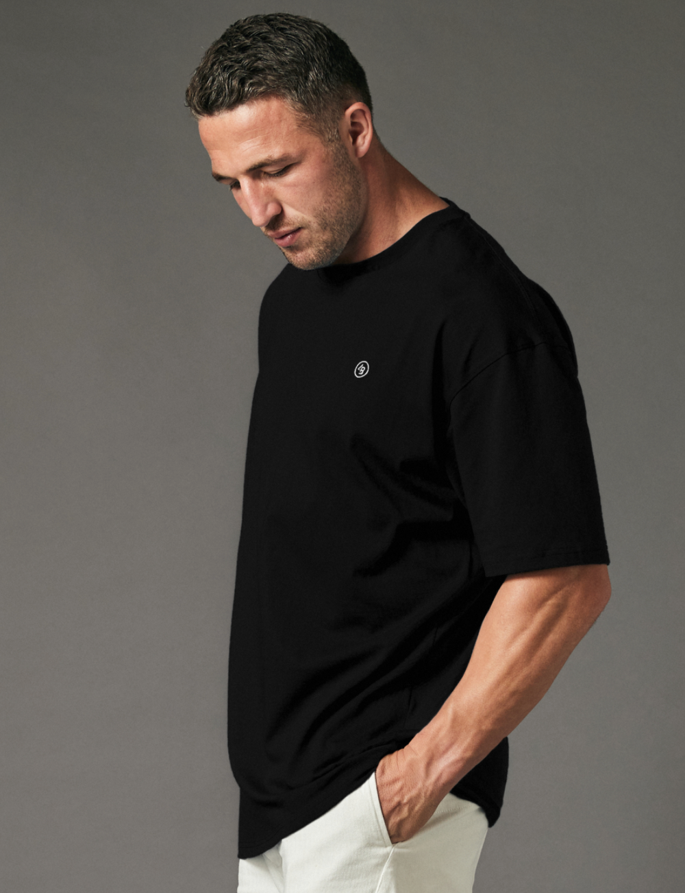 Reset Oversized Tee - Black