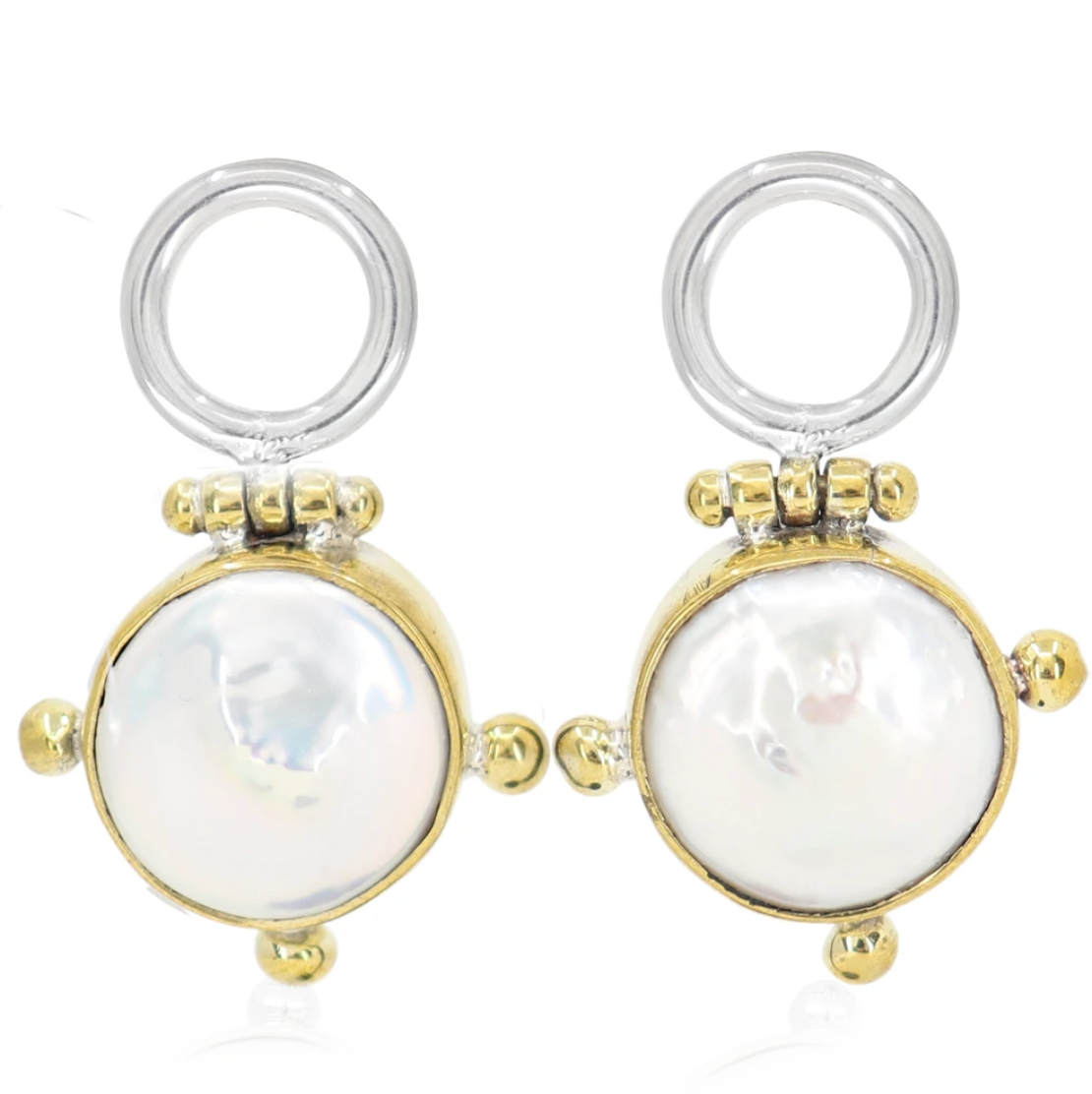 The Lost Pearl Earrings - Gold