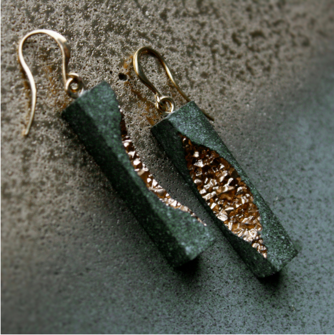 Burra Rectangular Dangle Earrings
