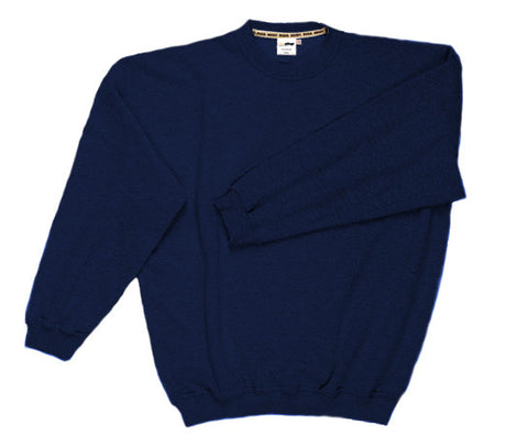 Basic sweatshirt navy blue
