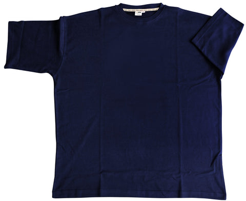12XLShop Big and Tall Basic T-Shirt navyblue 4XL - 15XL