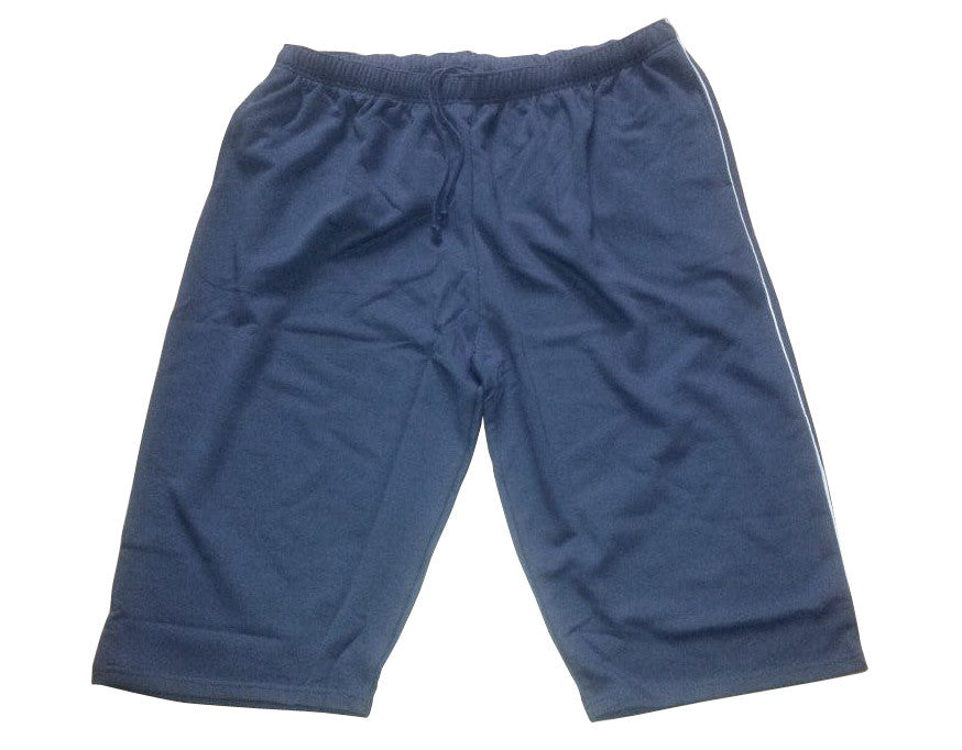 7/8 Bermuda Shorts steel grey with grey Piping