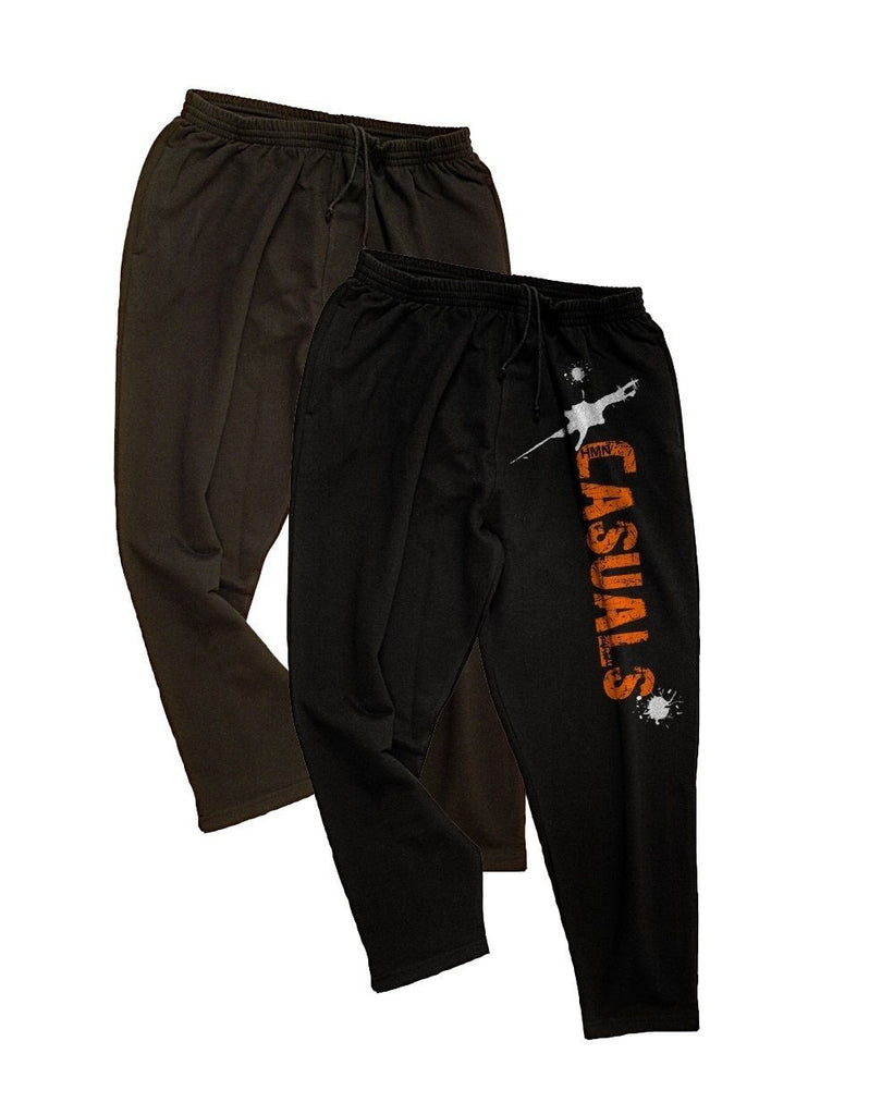 Fashion Tracksuit Trousers Doublepack