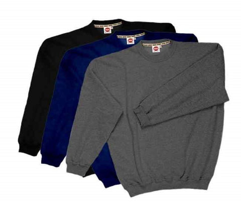 Basic Sweatshirt crew neck in a Multipack