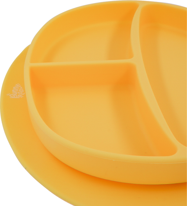 Messmate Silicone Divider Plate - Pineapple - Bunny Roo