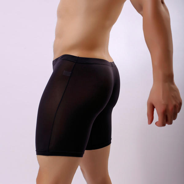 Men's Silk Soft Anti-friction U Convex Sport Boxer