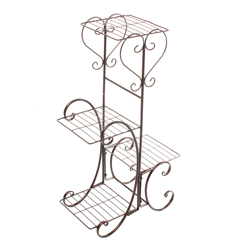 4 TIER Metal Shelves