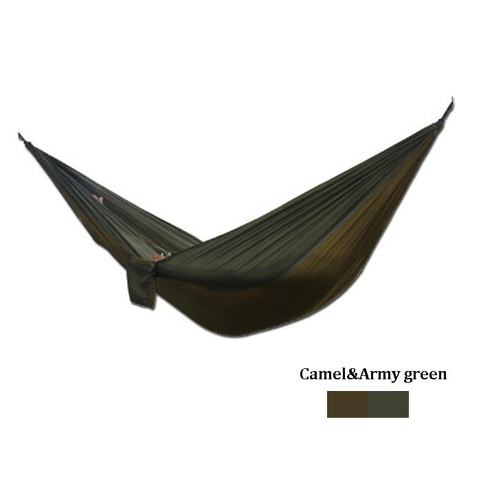 Xmund™ Portable Outdoor Double Hammock With 210T Nylon Swing Bed