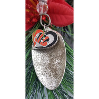 Ornament, football Ohio Cincinnati Bengals