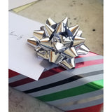 Gift wrap with note, gift wrapping