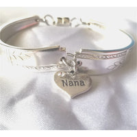 Bracelet, braclet, Mother's day, Nana, Mom, bracelets, Grandmother, Nana gift, Nana, spoon bracelet, women's