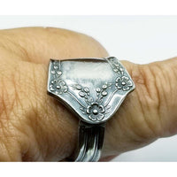 Spoon ring floral