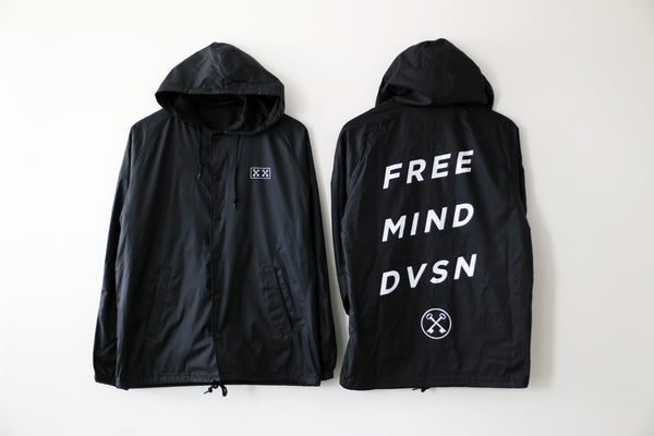 THE FREE MIND DIVISION JACKET (BLACK)