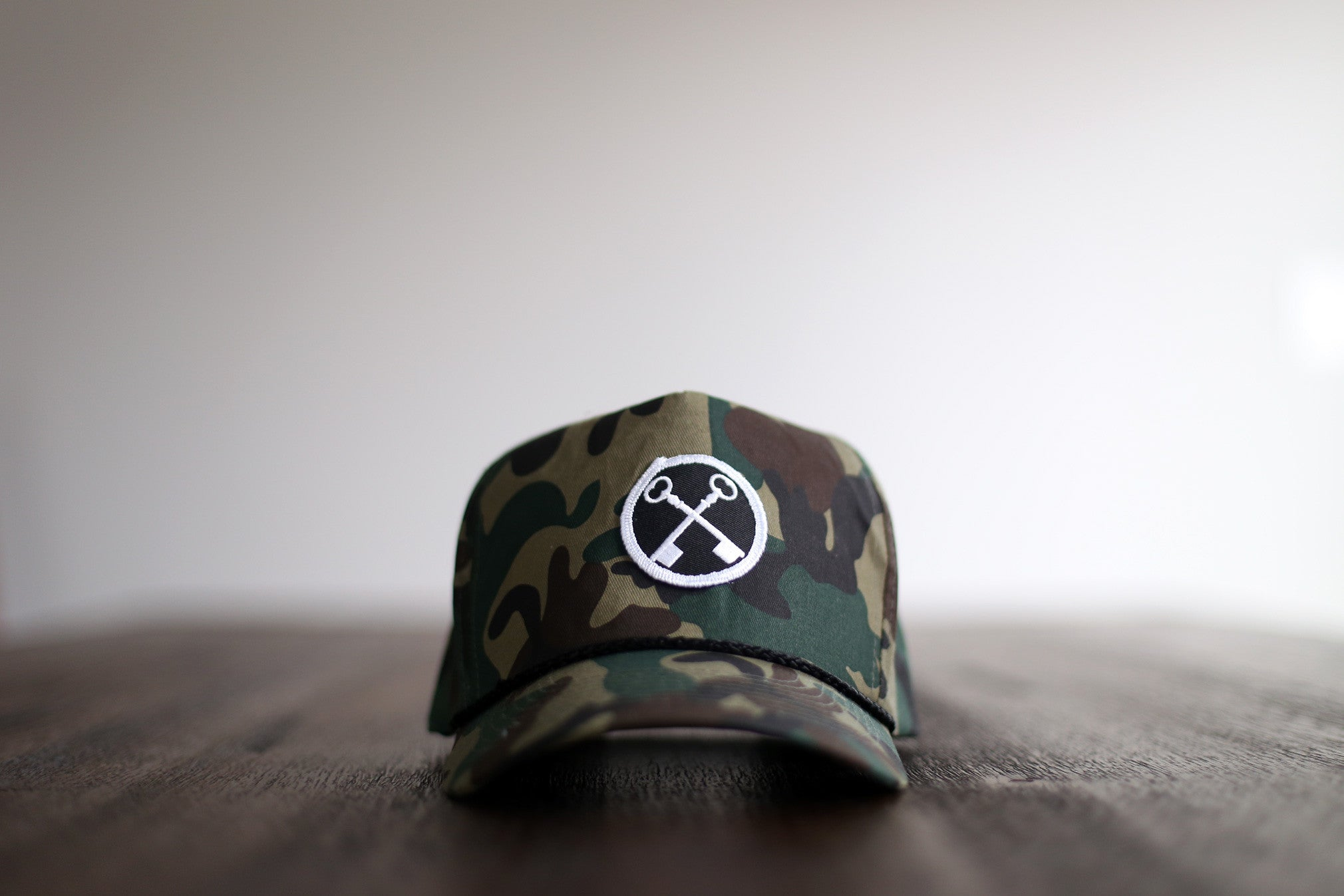 THE CAMO ROPE HAT