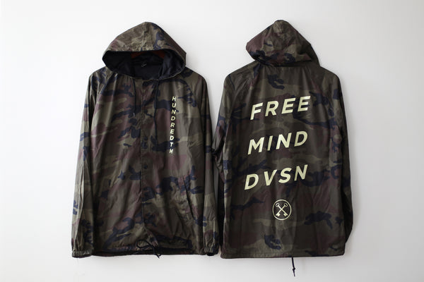THE FREE MIND DIVISION JACKET (CAMO)