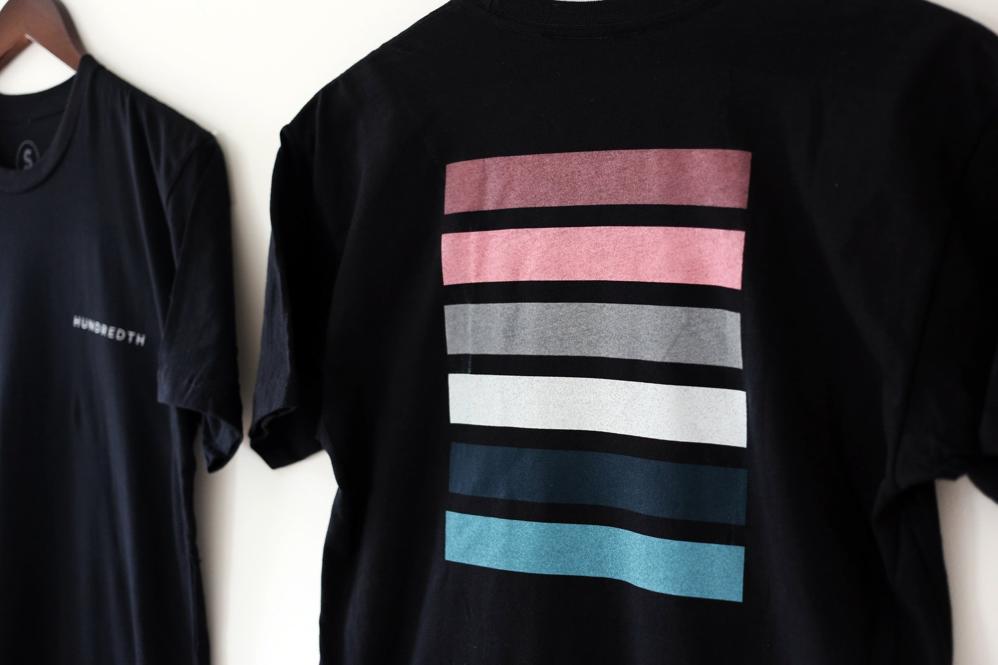 THE COLORS TEE  (BLACK)