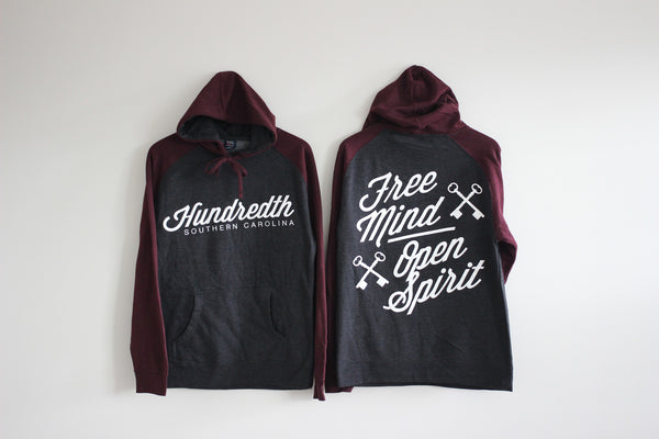 THE FREE MIND / OPEN SPIRIT HOODIE