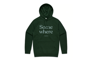 Load image into Gallery viewer, THE SOMEWHERE NOWHERE HOODIE (FOREST)