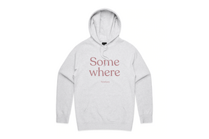 Load image into Gallery viewer, THE SOMEWHERE NOWHERE HOODIE (LIGHT HEATHER)